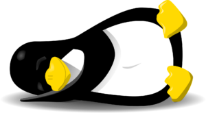 penguin-sleeping-on-side