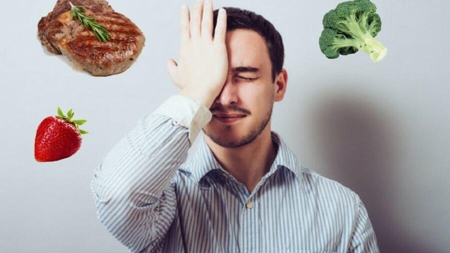 man-face-palm-food