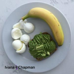 egg-whites-avocado-toast-banana
